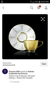 Prouna Adonis collection cup and saucer