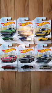 Hot Wheels Detroit Muscle Exclusive 6 car set