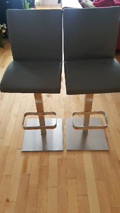 Beautiful heavy duty stainless steel chairs