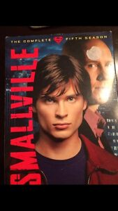Smallville 5th season dvd series