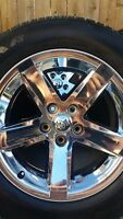 4 DODGE RAM RIMS WITH GOODYEAR SR/A TIRES P275/60/20