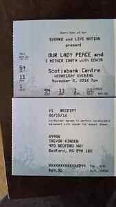 Our Lady Peace / I Mother Earth floor ticket