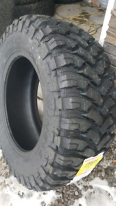 NEW LT37X12.5R22 COMFORSER MUD TERRAIN TIRES E RATED