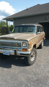 REDUCED! 1978 Jeep Cherokee / Wagoneer