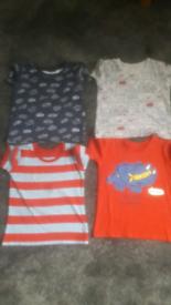 Set of 4 boys tshirts