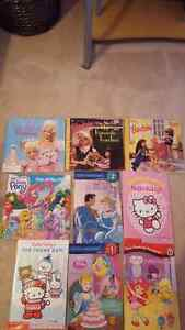 Early readers books for girls, Barbie, Hello Kitty, etc.