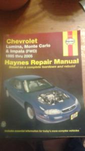 several repair manuals $15.00 each OBO