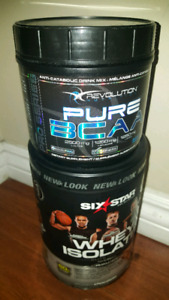 Pure BCAA and Whey Isolate