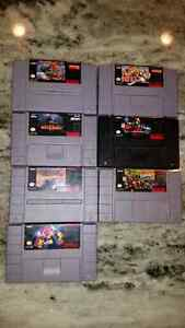 • Super Nintendo games ~ $100 for all