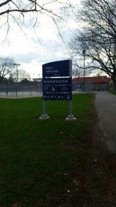Hockey Cosom à Ville St.Pierre (Lachine)