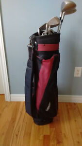 Golf Mate Ladies Right Handed Golf Club Set with Bag