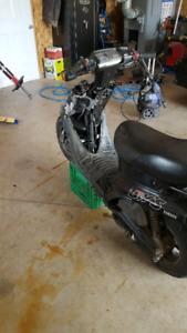 Yamaha bws 50cc scooter