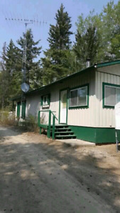Rental 3 bedroom cabin in the meeting lake regional park