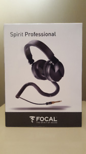Focal Spirit Professional Headphones - Sealed Package, Brand New