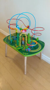 Hape Wooden Railway Jungle Play and Activity Table