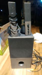 Speaker avec sub pour ordi