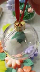 Handmade Soap Clear Christmas Ornament (Balls)  Kitchener / Waterloo Kitchener Area image 10