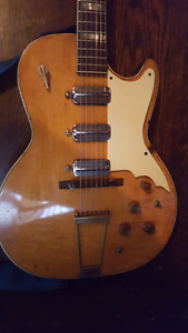 1963 Silvertone 1445L (made by Kay)
