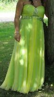 TIFFANY GRAD DRESS