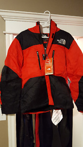 North Face Winter Jacket Red New