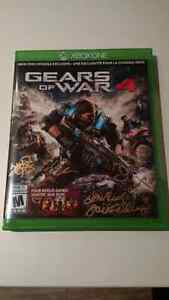Gears of War 4 - Signed Cover