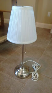 TWO SIDE TABLE LAMPS FOR 10 CAD