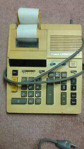 Canon calculator adding machine