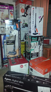 Vacuums Available over 10 models starting 20 and up