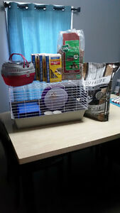 Hedgehog Cage and supplies