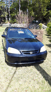 2002 Honda Civic EX Coupe (2 door)
