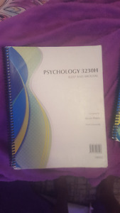 Trent University PSYCH 3230H booklet