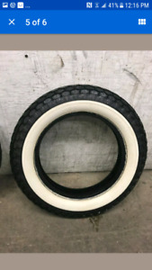 Used cooker white wall tire