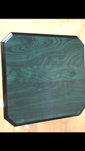 3 pc Green Coffee Table