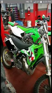 1995 kawasaki kx 250
