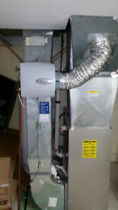 Central Humidifier Installations, Service,  and Furnace Tune ups