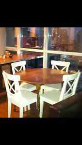 KITCHEN DINING TABLE and CHAIRS for SALE