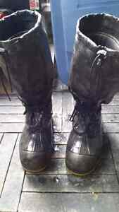 *Reduced* Baffins Steel-Toed Winter Boots - Size 10