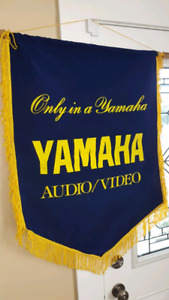Rare Yamaha audio/video banner
