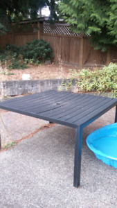 Free outdoor table. Good condition.