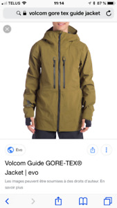 Manteau volcom guide jacket gore tex