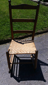 Rocking chair for sale. ($20.00, or best offer.)