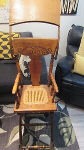 Antique High Chair/Push Cart Kingston Kingston Area image 2