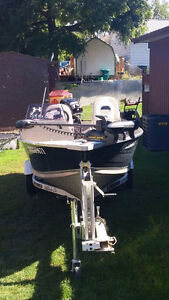 2010 Legend 16 foot boat