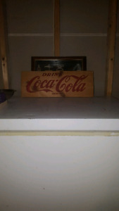 COCA COLA SIDE PANEL NEVER NAILED