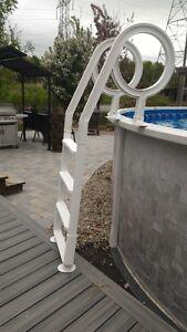échelles de piscine