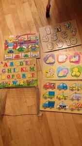 5 sets of Puzzles