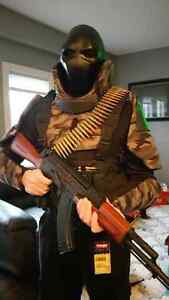Army of Two Inspired Holloween Costume Strathcona County Edmonton Area image 1