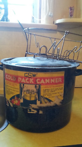 Canner with insert. $15.