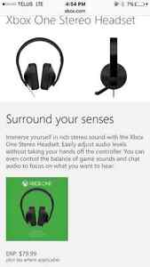 Brand new Xbox One stereo headset