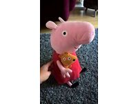 Large Peppa Pig cuddle toy children's toy